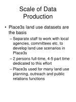 scale of data production