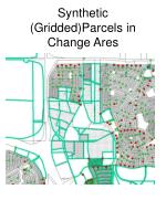 synthetic gridded parcels in change ares
