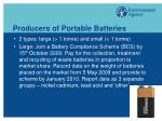 producers of portable batteries