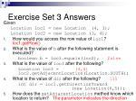 exercise set 3 answers