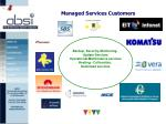 managed services customers