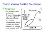 factors affecting red cell sensitization2