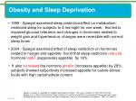 obesity and sleep deprivation1