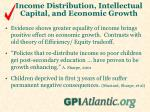 income distribution intellectual capital and economic growth