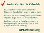 social capital is valuable