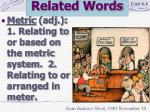 related words10