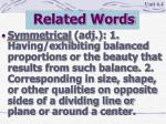 related words12