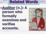 related words14