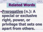 related words2