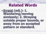 related words22