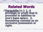 related words4