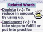 related words8