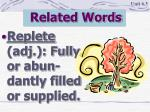 related words9