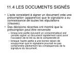 11 4 les documents sign s