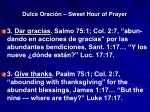 dulce oraci n sweet hour of prayer10