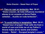 dulce oraci n sweet hour of prayer11