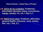 dulce oraci n sweet hour of prayer12