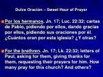 dulce oraci n sweet hour of prayer4