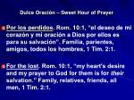 dulce oraci n sweet hour of prayer5