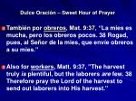 dulce oraci n sweet hour of prayer6