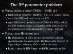 the 3 rd parameter problem