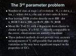 the 3 rd parameter problem1