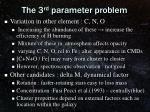 the 3 rd parameter problem2