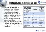 protocolul de la kyoto ce este