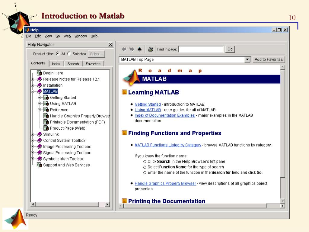 PPT - Introduction to Matlab-1 PowerPoint Presentation - ID:3924007