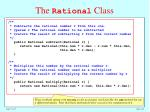 the rational class2