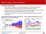 economic outlook balance of payment