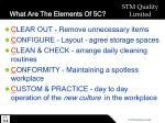 what are the elements of 5c