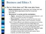 business and ethics 5
