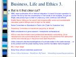 business life and ethics 3