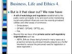 business life and ethics 4
