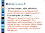 defining ethics 2