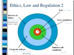 ethics law and regulation 2