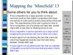 mapping the minefield 13