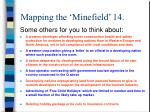 mapping the minefield 14