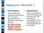 mapping the minefield 4