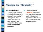 mapping the minefield 7