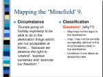mapping the minefield 9