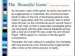 the beautiful game with apologies to ben elton1