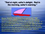 red at night sailor s delight red in the morning sailor s warning1