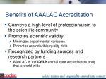 benefits of aaalac accreditation2