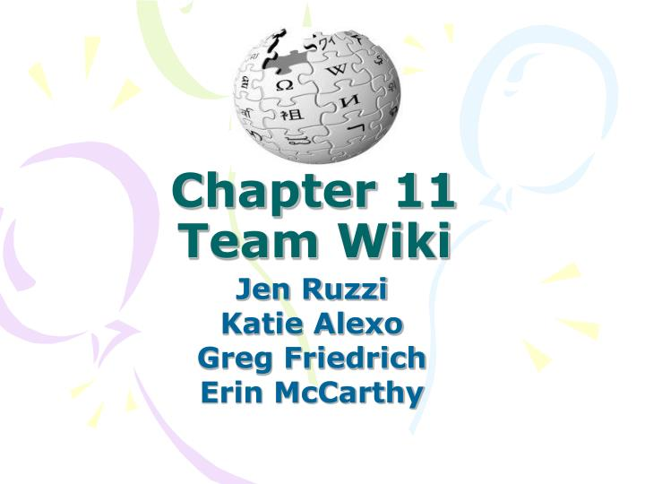 chapter 11 team wiki n.