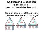 addition and subtraction fact families3