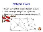 network flows1
