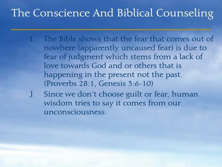 The Bible shows that the fear that comes out of nowhere (apparently uncaused fear) is due to  fear of judgment which stems from a lack of love towards God and or others that is  happening in the present not the past. (Proverbs 28:1, Genesis 3:6-10)