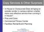 copy services other surprises